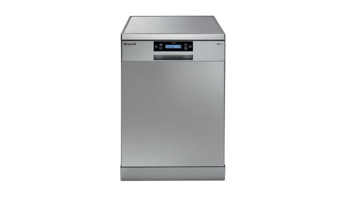 Image01 : Lave-vaisselle Pose libreDFH14118X - INOX - 14 couverts, 3 bras de lavage - Silence 44db -...
