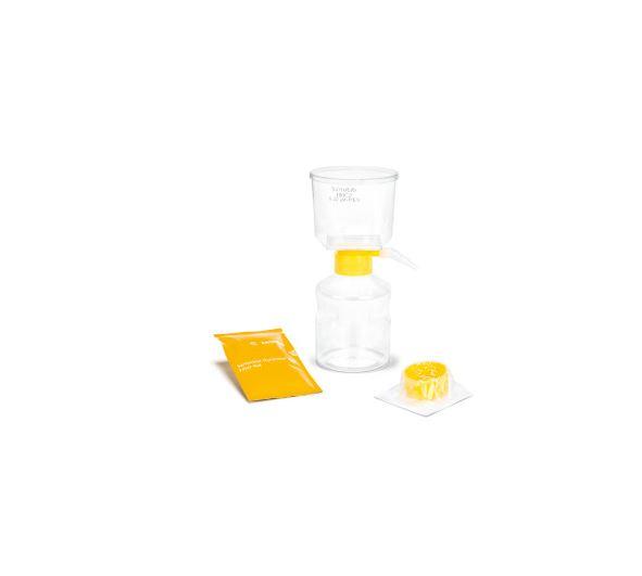Sartoclear Dynamics® Lab V, 500 mL, 10 g est l'un des kits de filtration Sartoclear Dynamics® Lab. S...