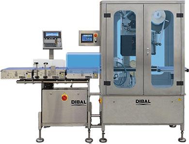 Equipos de pesaje y etiquetado automático de productos en C (envolviendo el producto). Permiten util...
