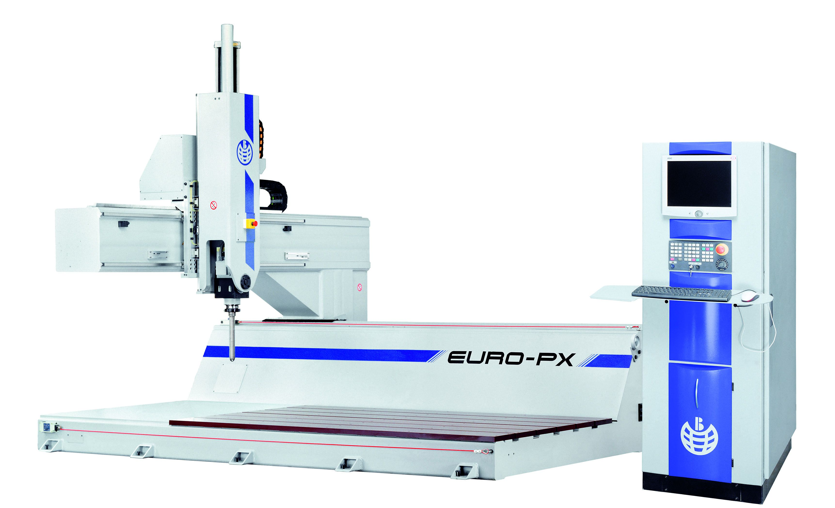 Máquina fresadora de control numérico (CNC) diseñada para el mecanizado de una gran variedad de mate...