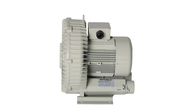 The side/side channel blower is a rotary machine for compressing and transporting air as well as oth...