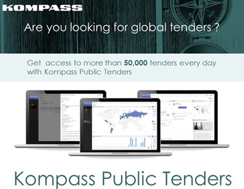 Kompass Public Tenders is our new global tenders service helping companies identify new business opp...