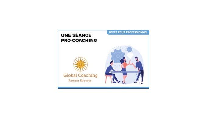 1 séance Pro-coaching Développez votre potentiel professionnel au cours d'une séance de Pro-Coaching...
