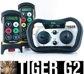 Tiger G2 är vårt mest avancerade system inom industriell radiostyrning. Systemet har ett brett produ...