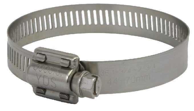 1/2'' (12.7mm)bandwidth high torque hose clamp is designed for industrial applications of heavy- dut...