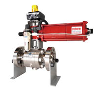 Actuated Trunnion Ball Valve