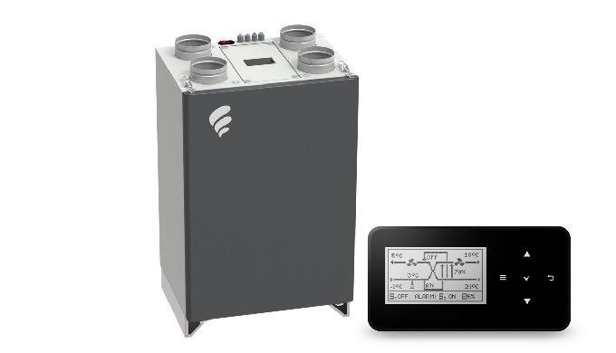 Rekuperator ONYX PRIDE 200 - centrala stojąca z automatyką