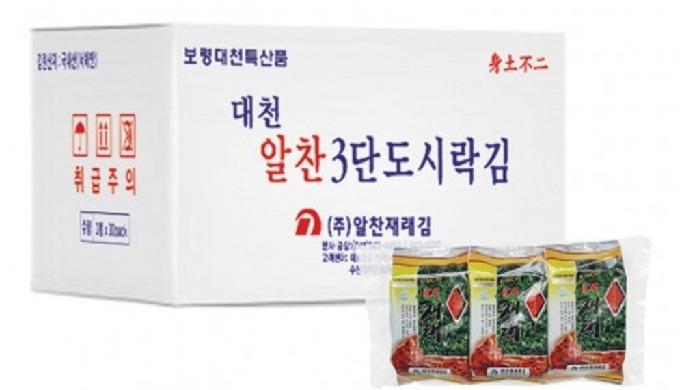 • له نكهة الكيمتشي مع الأعشاب البحرية الطبيعية من الساحل الغربي لكوريا الجنوبية. تحظى بشعبية كبيرة ب...
