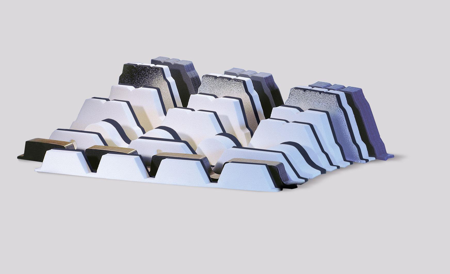 ISO-PROFIL FÜLLERLEISTEN und FÜLERSTÜCKE sind präzise profilierte Formteile für Blechtypen europäisc...