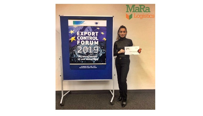 Ma.Ra Logistics team attends at Export Control Forum 2019, Bruxelles