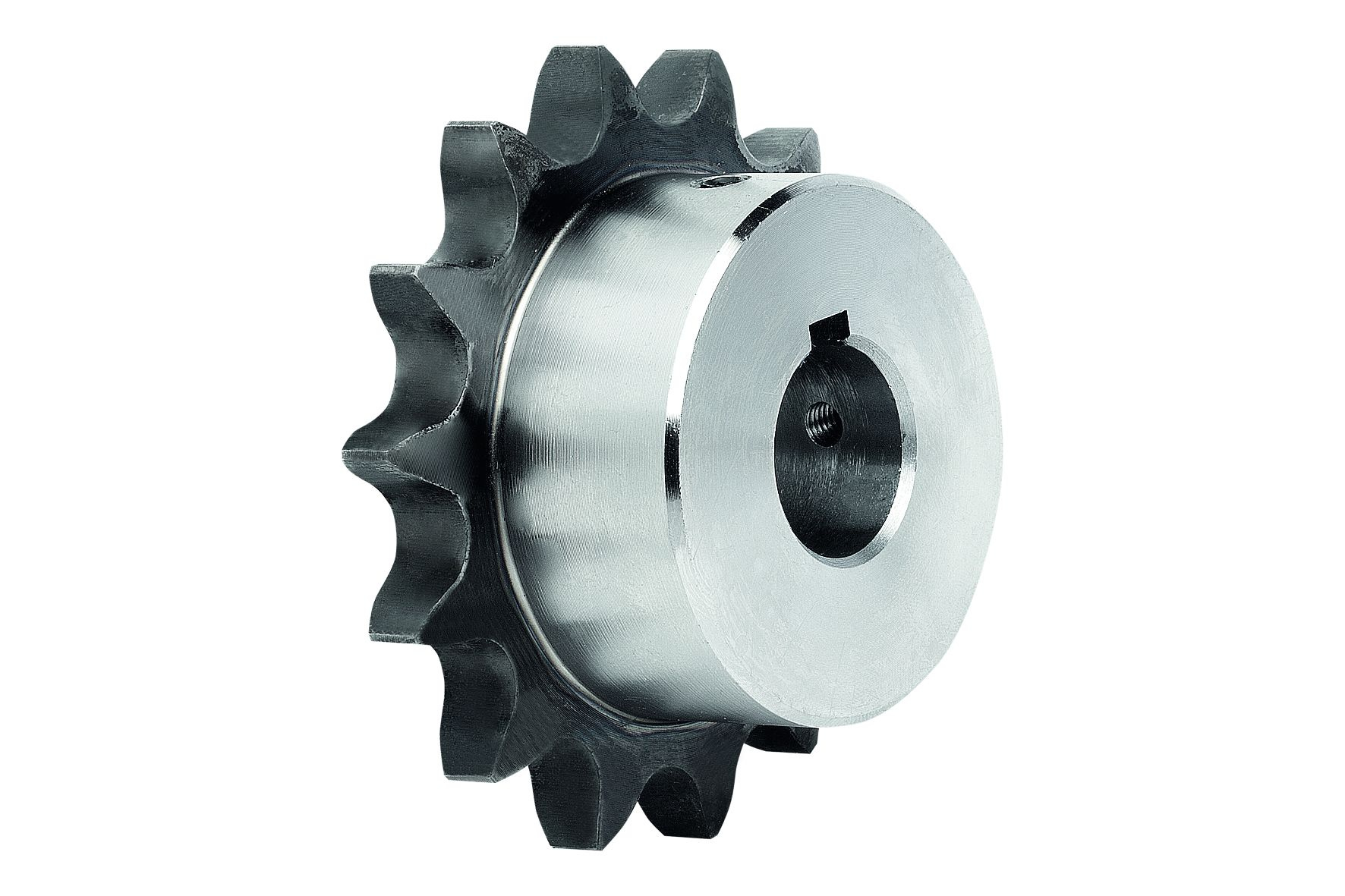 Material: Steel C45. Version: Bright. Teeth inductively hardened ~HRC 50. Note: Ready-to-install spr...