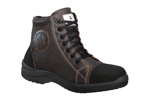 Dámská kotníková obuv z lícové měkké usně s hydrofobní úpravou LIBERT´IN S3 kotníková Velmi lehká ko...