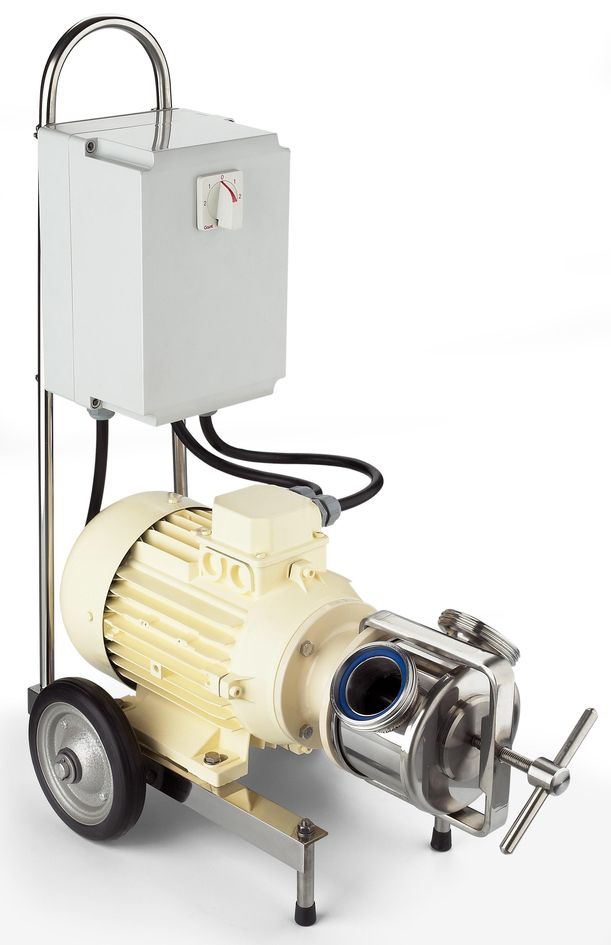 Self-priming Pumps in the Sanitary Series