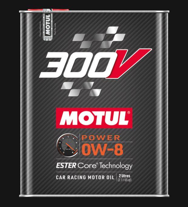 Motul 300V power 0W-8