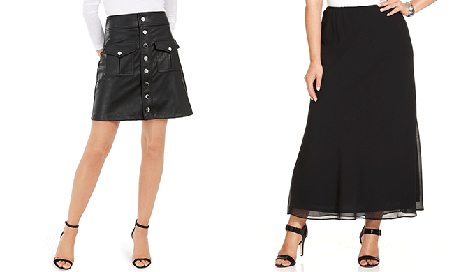 Women's Short and Long Skirts