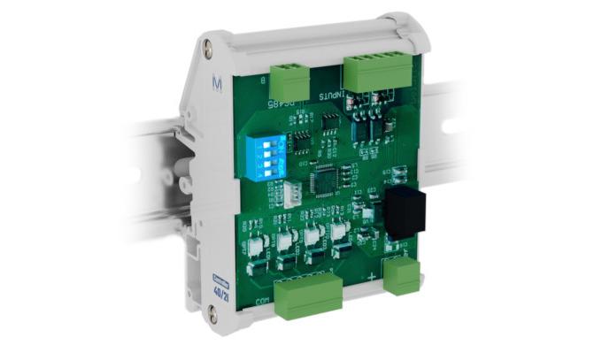Der Controller 4O/2I trägt dazu bei, spezifische Lösungen für jede Aufgabenstellung in der Automatis...
