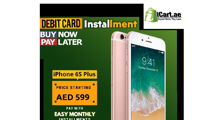 Buy Mobiles Phones on Installment in UAE. Installment on Debit Cards Available.