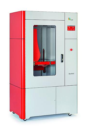 DeeRed - profesionální 3D tiskárna DeeRed je profesionální 3D tiskárnou, která tiskovým objemem a kv...