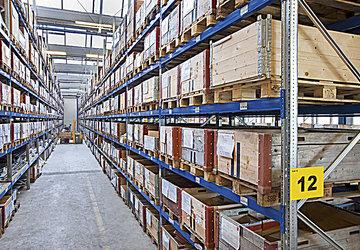 Das SPEZIAL Palettenregal ist ein modernes und innovatives Regalsystem von hoher Qualität und für de...
