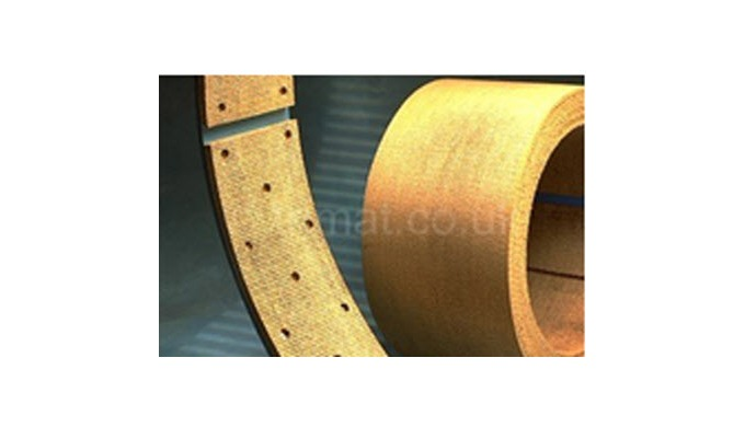 Trimat asbestos free brake linings are fitted to the full range of marine braking applications, over...