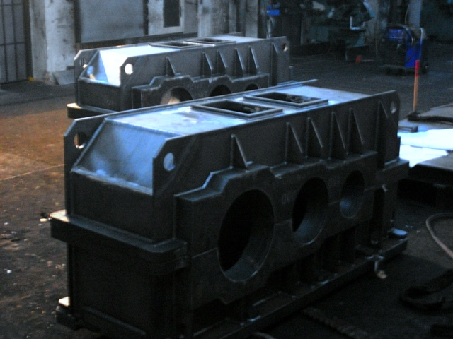 Svařované skříně průmyslových převodovek