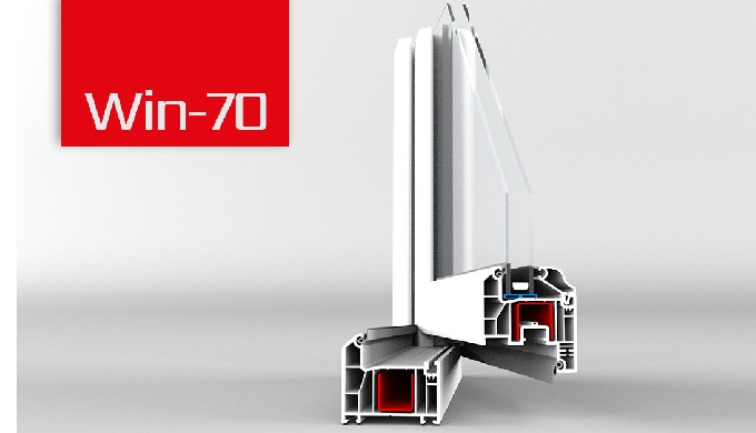 7000 series upvc profile 5-chamber profile with a basic depth of 70 mm Innovative multi-chamber syst...