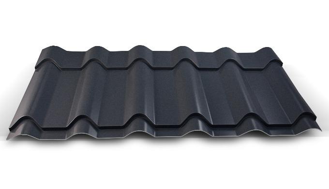 Blacha dachowa - Hornval H3. Dostępna tylko w wersji ciętej na wymiar.