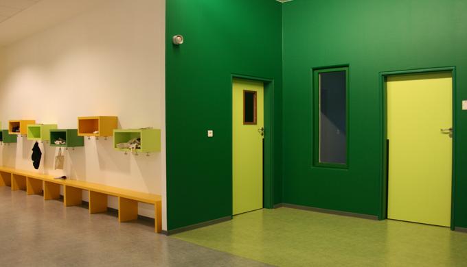 Portes EI30 maternelle 1 vantail et 2 vantaux : Portes et blocs-portes avec huisseries bois ou métal...