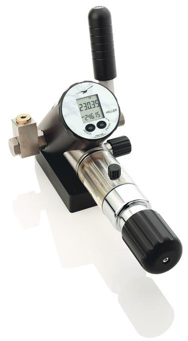 Druckkalibratoren mit einer Vielzahl von Funktionen für Nieder, Mittel und Hochdruck.