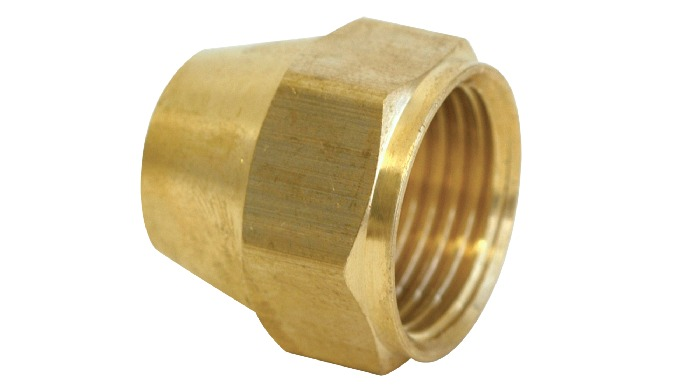 Brass Flare Nut Short