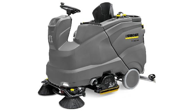 Les autolaveuses Kärcher constituent une solution de choix pour les professionnels du nettoyage. Ell...
