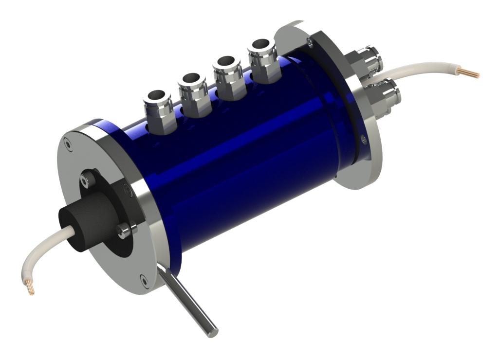 Passage tournant multiples pour pneumatique avec transmetteur de bagues collectrices Propriétés du p...