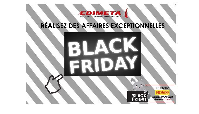 Préparez-vous, pour le black Friday c'est l'occasion de réaliser des affaires exceptionnelles !