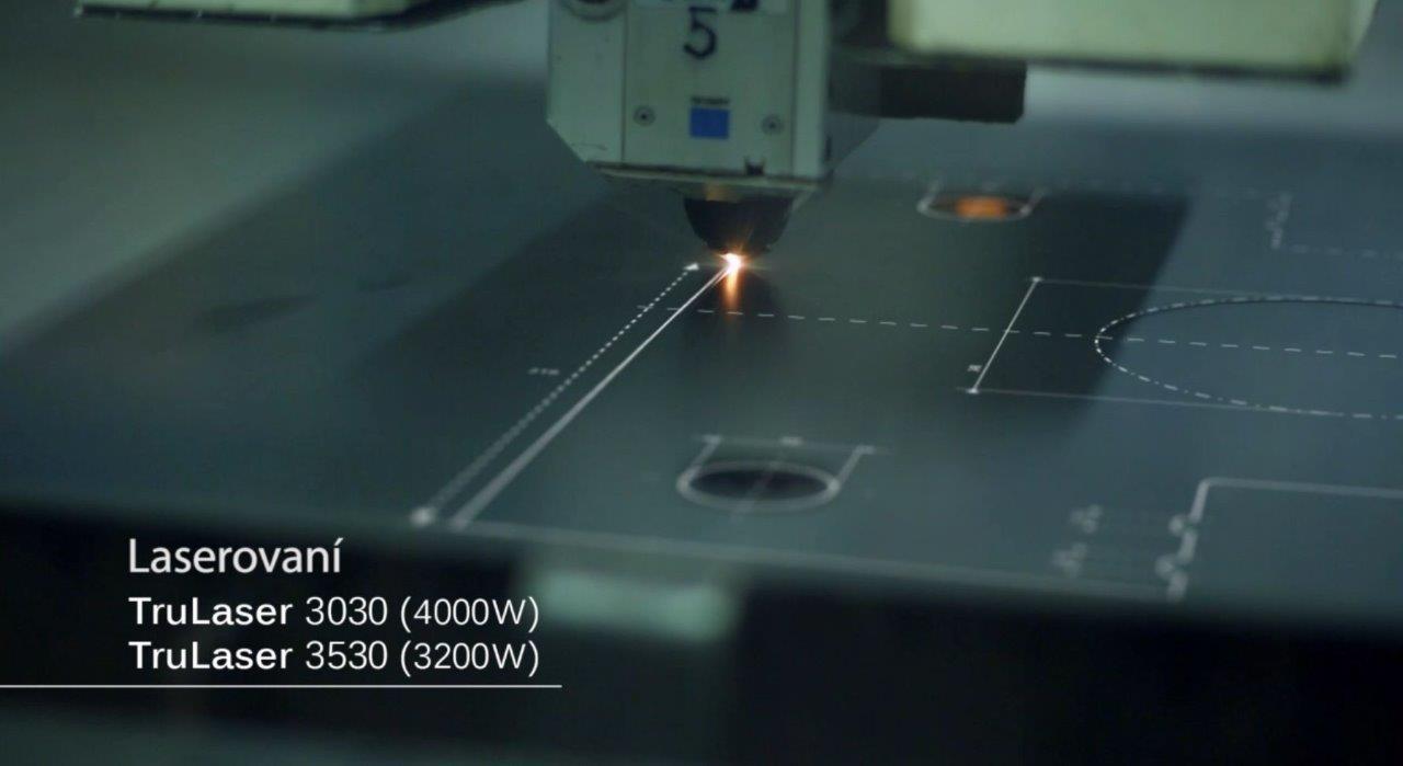 Laserové řezání ocelových, hliníkových a  nerezových  plechů