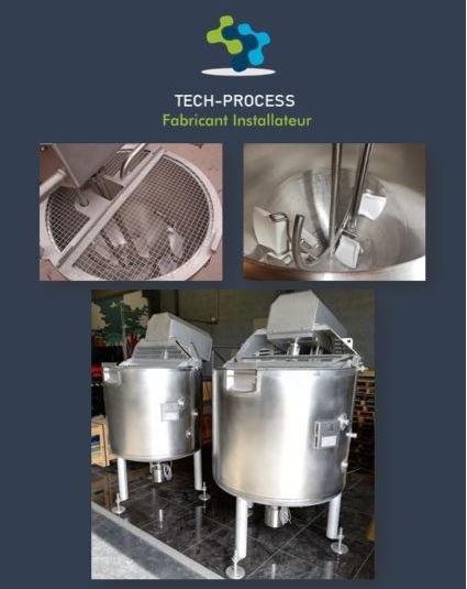 TECH-PROCESS, fabricant installateur Français de matériel pour les industries agroalimentaires, vous...