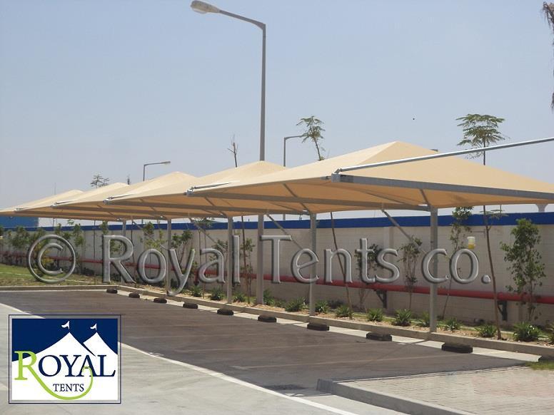 مظلة كانتيليفر تصلح لكافة الاغراض وخاصة اماكن انتظار السيارات بالفيلات والمدارس والنوادى