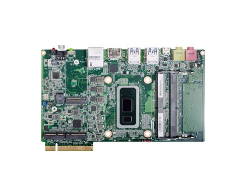 2 DDR4 2400MHz SODIMM up to 32G Multiple expansion: 1 M.2 E Key, 1 M.2 M Key, 1 M.2 B Key 1 HDMI res...