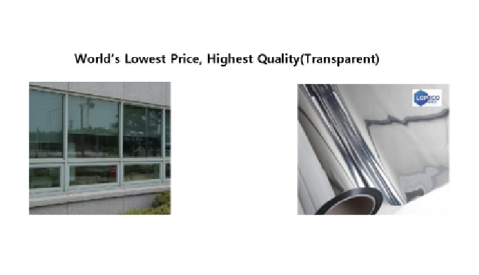 Insulating Transparent Film for Window