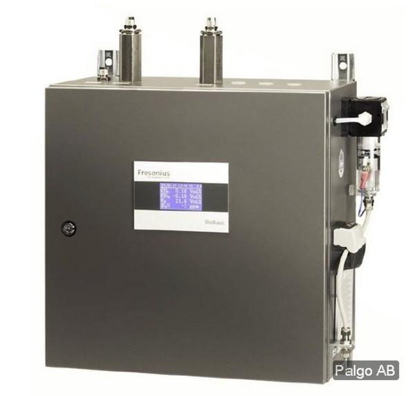 Biogasanalysatorn BioBasic är en lättanvänd extraktiv analysator för väggmontage från Fresenius Umwe...