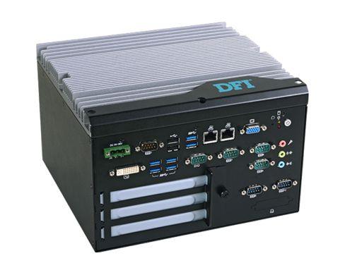 EC532-DL | Intel Xeon E3-1268L v3 | Fanless Embedded System | DFI
