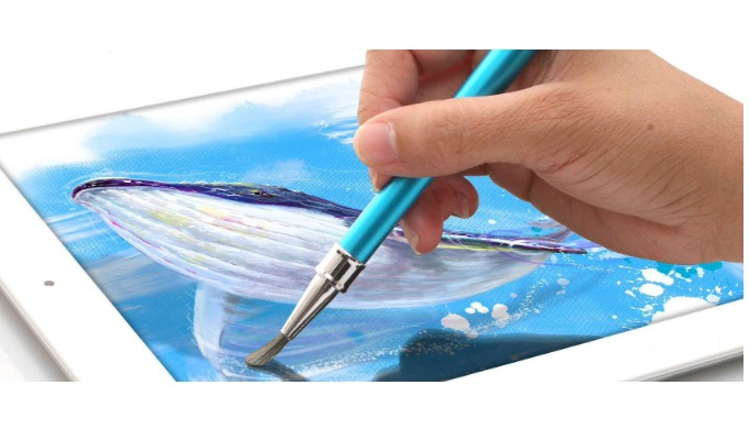 Digital aerist brush for painting on iPAD or any touch screen devices
