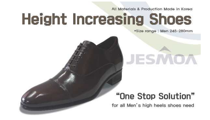 Height increasing shoes /  IL KYUNG INDUSTRY