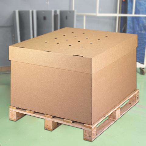 Embalaje de cartón tipo Box palet