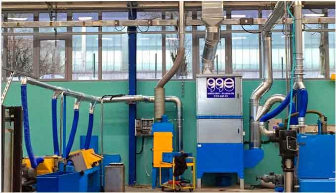 Distribuimos sistemas para filtración de humos de soldadura, de la marca gge, sinónimo de garantía, ...