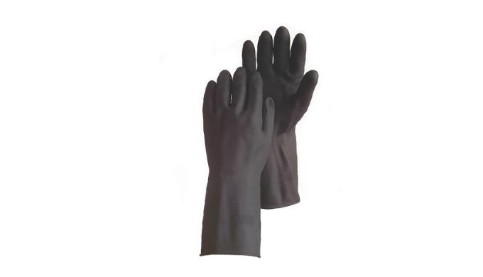 Guante látex neopreno negro ANSELL Alphatec 87-118 (ex G17K)