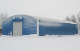 PMH Polarhall är förstärkt och dimensionerad för att klara snö- och vindlaster i Sveriges nordligast...