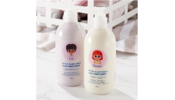 Hair Conditioner_LITTLE GLAM GIRLS HAIR CONDITIONER (lavender/orange)