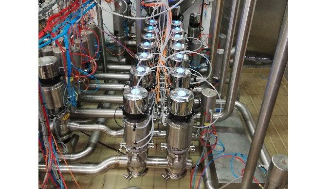 Manifold de vannes à chambre de fuite permettant d'optimiser et sécuriser le remplissage ou le dépot...