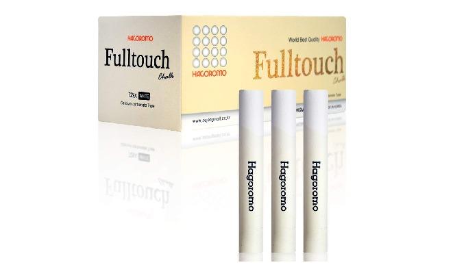 HAGOROMO FULLTOUCH WHITE CHALK [72 PCS]/1 BOX