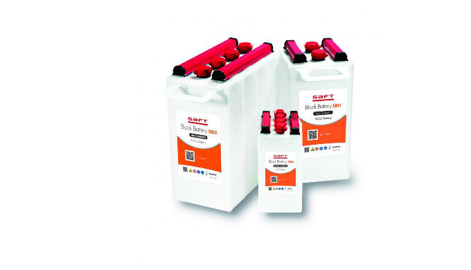 Block battery : SBLE, SBM, SBH The broadest capacity in the world Saft SBLE, SBM and SBH ranges of b...
